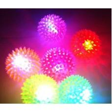 Мячики разноцветные светящиеся