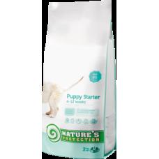Корм для щенков всех пород c 4 до 12 недель Puppy Starter Natures protection