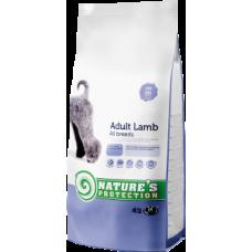 Корм со вкусом баранины для взрослых собак всех пород Adult Lamb Natures protection