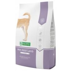 С мясом ягненка для взрослых собак малых пород Mini Adult Lamb Natures protection